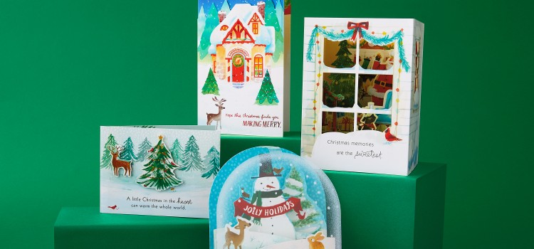 Hallmark unveils new Paper Wonder cards for holidays