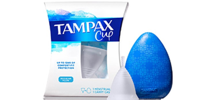 Tampax intros new menstrual cup