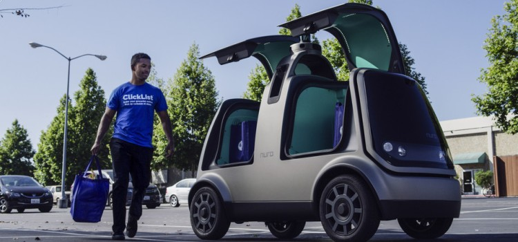 Nuro and Kroger launch unmanned delivery service