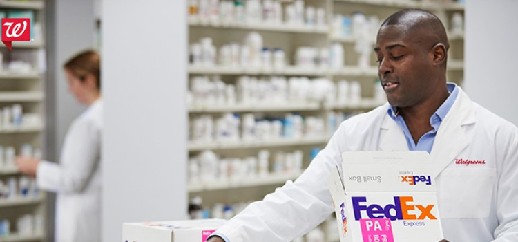 Walgreens, FedEx announce Rx delivery service