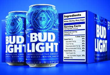 Bud Light elevates transparency in beer industry