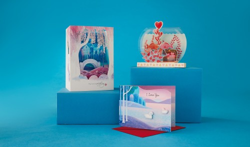 Hallmark's new card and wrap offerings