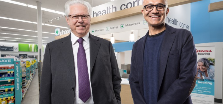 WBA joins Microsoft in health care partnership
