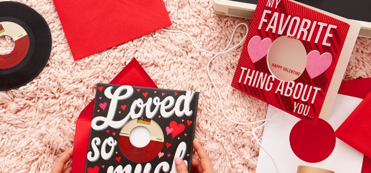 Hallmark spins new Valentine's Day cards that feature vinyl records