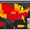 Wyoming, Oklahoma and Montana see flu activity gains in Walgreens Index