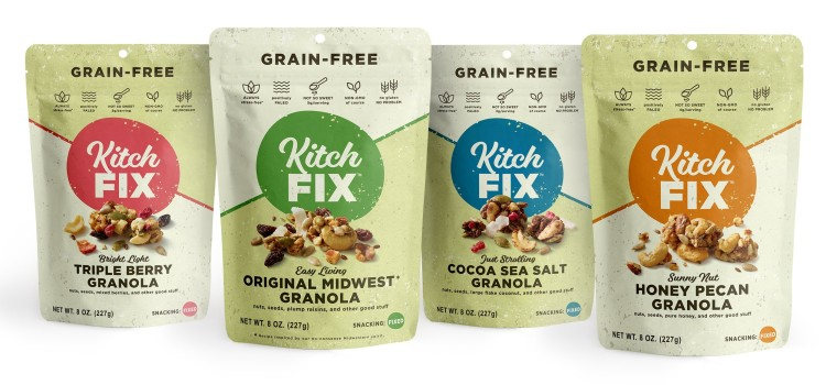 Kitchfix offers new packaging design