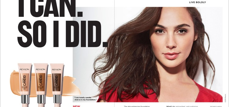 "Revlon rolls out its new ""I Can. So I Did."" campaign"