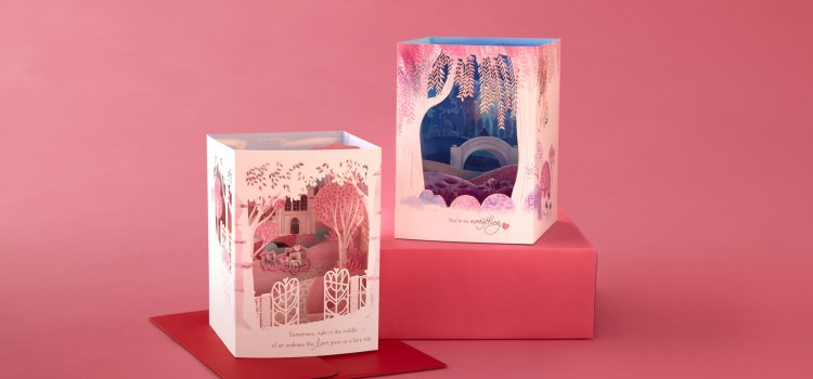 Hallmark Paper Wonder Cards make Valentine's Day even more special