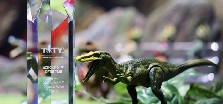 "Mattel wins ""Toy Of The Year"" award at Toy Fair"