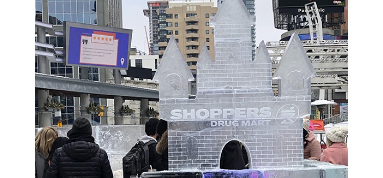 Shoppers Drug Mart unveils Beauty Ice Palace