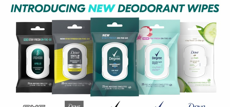 Unilever rolls out deodorant and antiperspirant formats for freshness on the go