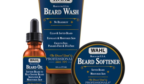 Wahl unveils new beard care line