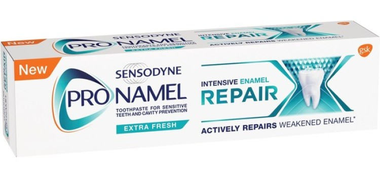 GSK rolls out  Pronamel Intensive Enamel Repair toothpaste