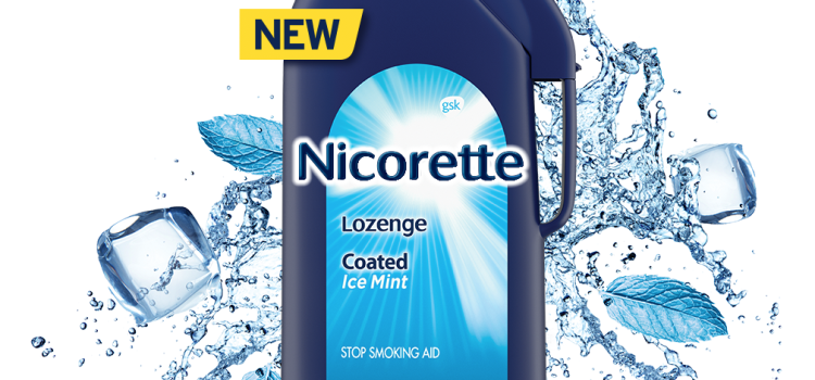Nicorette and Dale Earnhardt Jr. launch new Nicorette Coated Ice Mint Lozenges