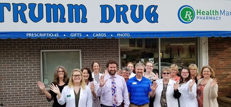 Trumm Drug is Health Mart Pharmacy of the Year