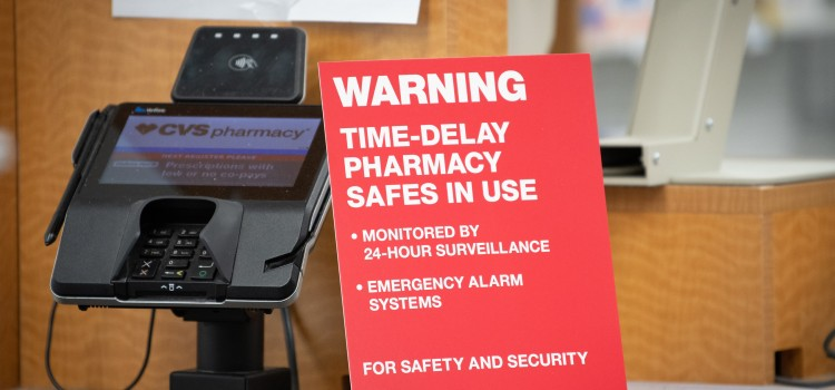 CVS installs time delay safes in all of its Virginia pharmacies