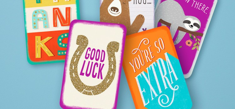 Hallmark introduces new Just Because mini greeting cards
