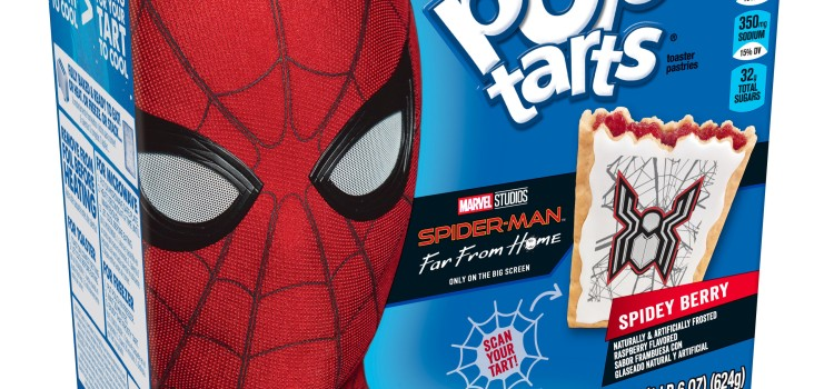 Kellogg's swings into action with Spider-Man themed food and interactive experiences