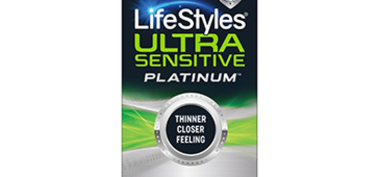 LifeStyles announces thinnest latex condom, Ultra-Sensitive Platinum