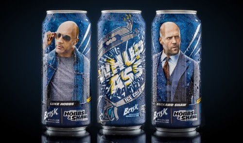 Brisk Iced Tea goes fast and furious