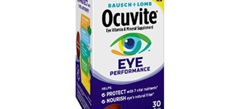 Bausch + Lomb unveils Ocuvite Eye Performance vitamins