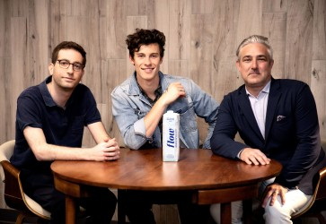Shawn Mendes becomes investor and partner in Flow Alkaline Spring Water