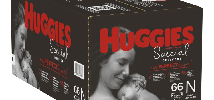 Huggies makes a special delivery