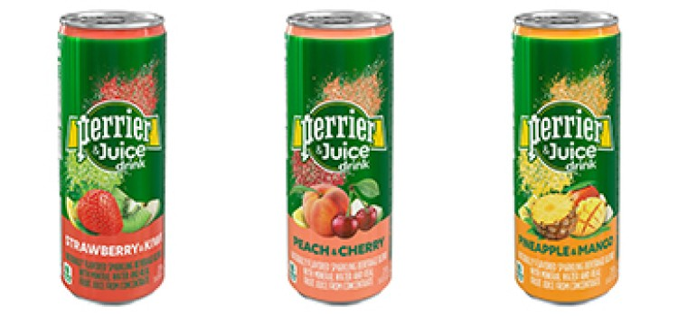 Perrier takes thirst-quenching refreshment to next level with Perrier & Juice Drink