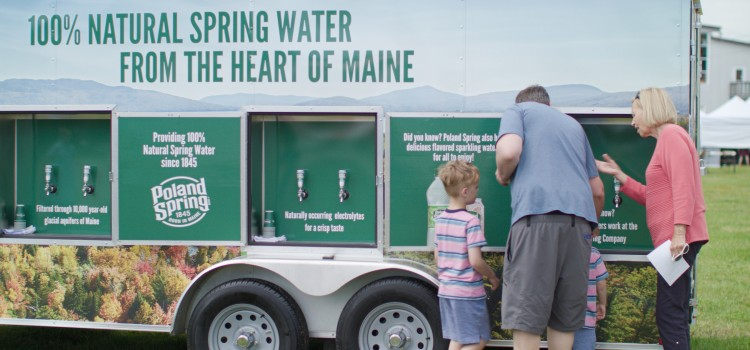Poland Spring announces return of popular Hydration Station
