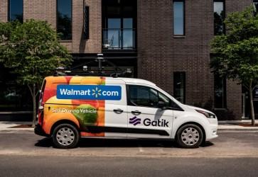 Walmart testing autonomous robotic vehicles