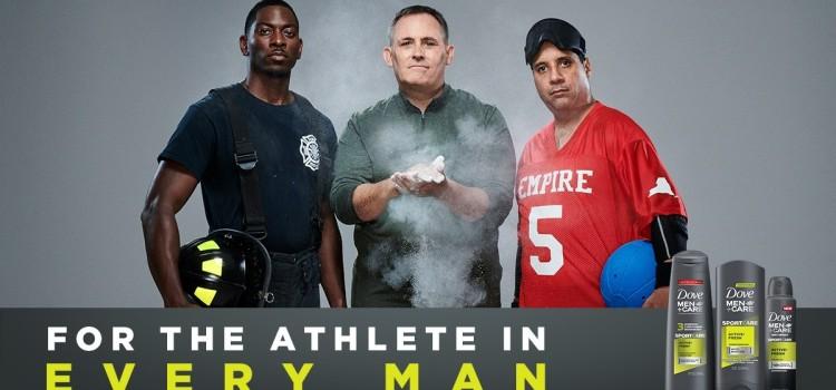 "Dove Men+Care inks ""biggest names"" in sports as the faces of Dove Men+Care Sportcare"