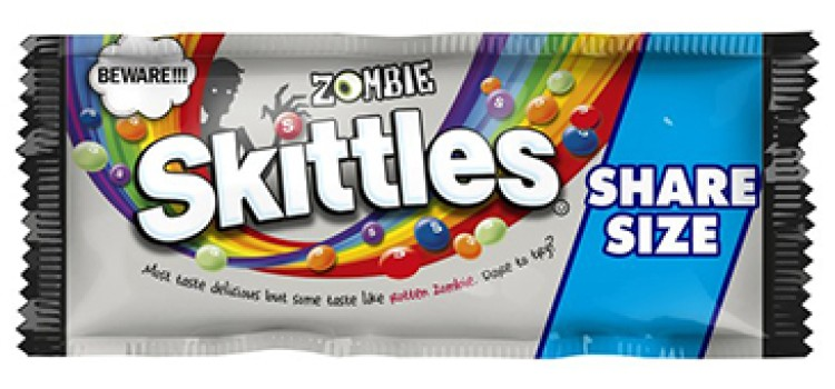 Mars to unveil Zombie Skittles for Halloween