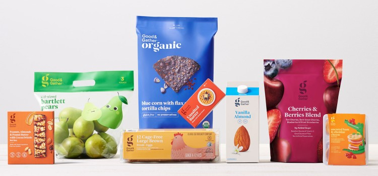 Target launching Good & Gather grocery brand