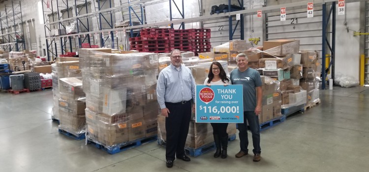 Over $116,000 collected during Bartell's School Tools donation drive