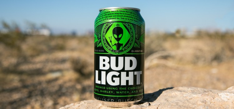 Bud Light unveils special edition alien-themed cans