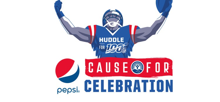 Pepsi celebrates the NFL's 100th season