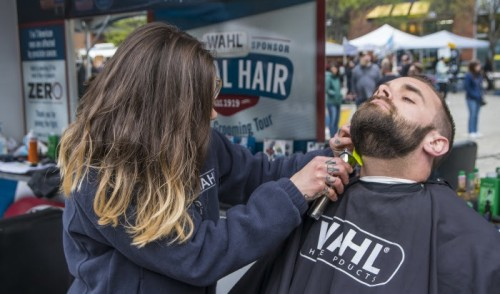 Wahl Mobile Barbershop at Made in America 2019
