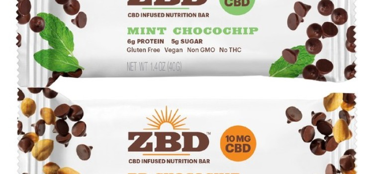 ZBD Health starts sales of first CBD-infused nutrition bars to stores