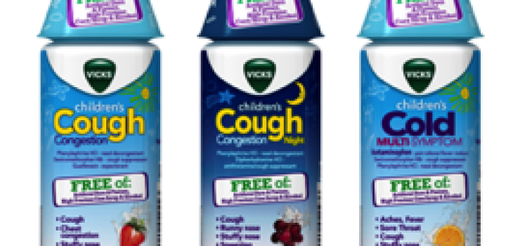 Vicks intros new children's cough & congestion product lineup
