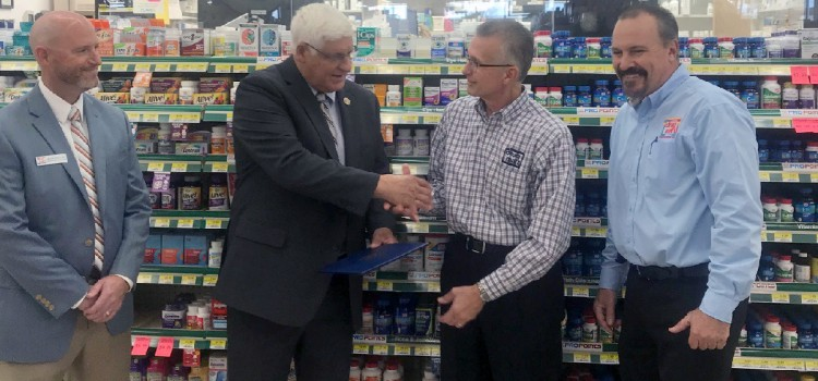 Congressman Gibbs discusses DIR, celebrates Discount Drug Mart's 50th