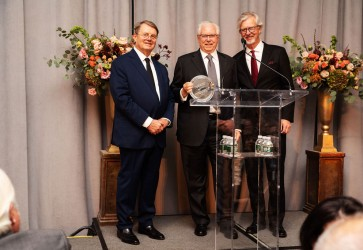 The American-Italian Cancer Foundation honors Stefano Pessina