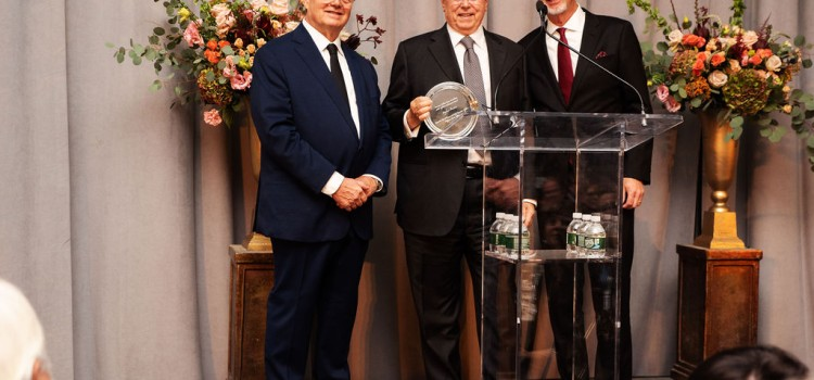 The American-Italian Cancer Foundation honors Stefano Pessina