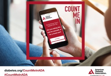 ADA launches Count Me In campaign to change the numbers on the diabetes epidemic