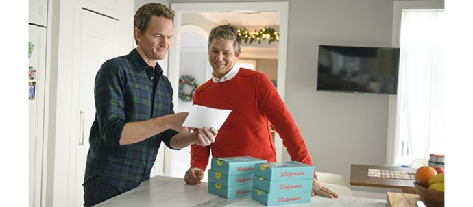 Walgreens, Neil Patrick Harris tackle the holidays
