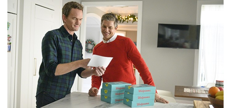 Walgreens, Neil Patrick Harris tackle the holidays