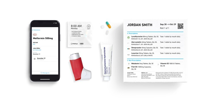 Amazon rebrands PillPack