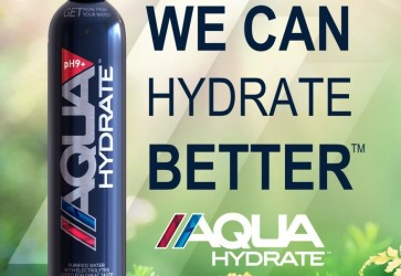 AQUAhydrate launches more sustainable package with a 750mL aluminum bottle