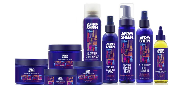 Afro Sheen unveils nine new products for the first time in 20 years