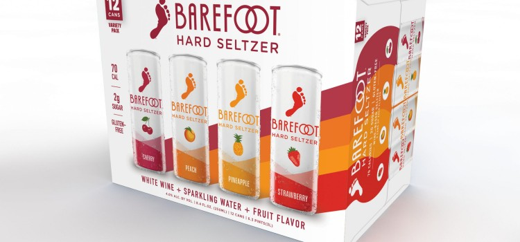 Barefoot brings wine to the seltzer category with Barefoot Hard Seltzer
