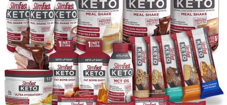 SlimFast expands its best-selling line of Keto products